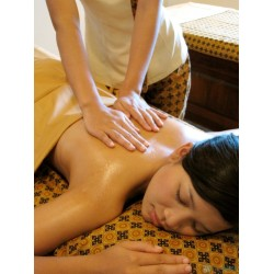 Oile Massage 60 min.  375 Kr.