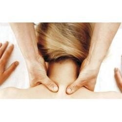 Skuldre + Rygsmassage + Nakke + Hoved Massage 60 min. 420 Kr.